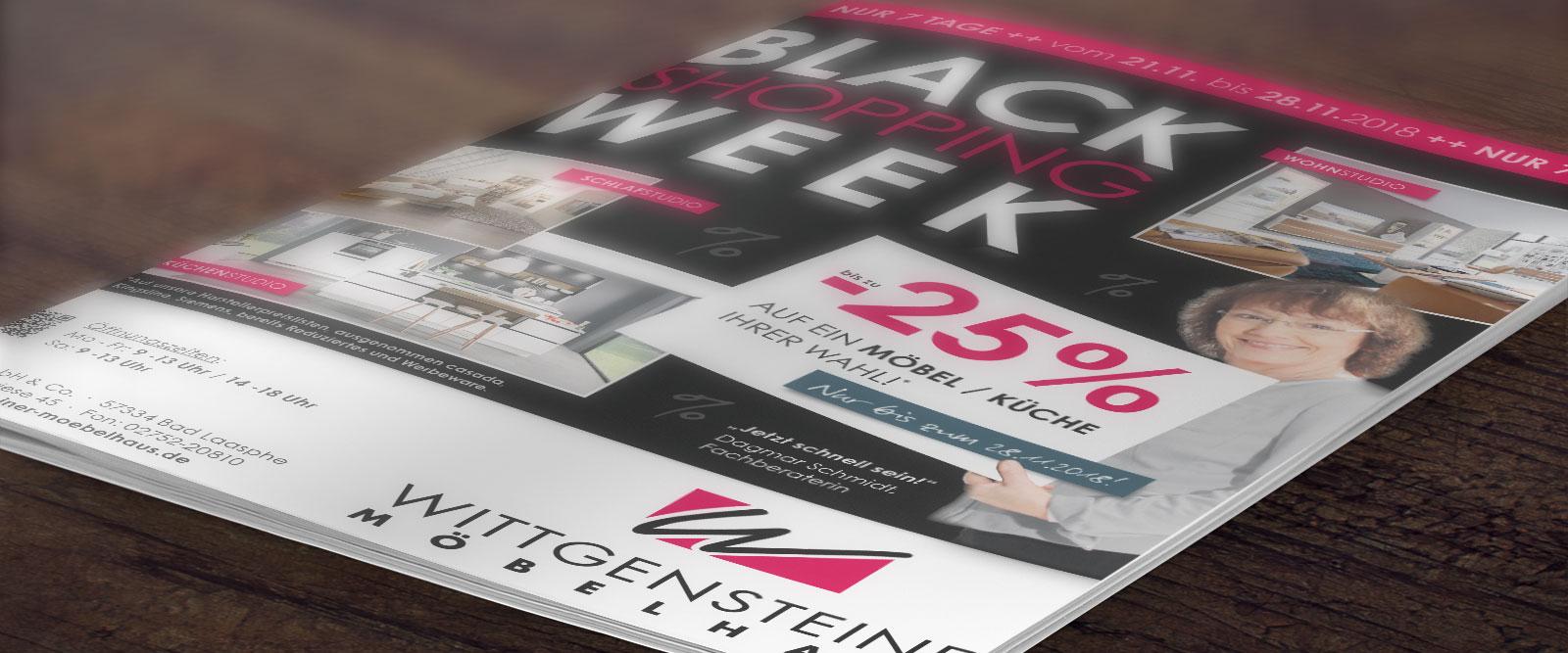 Wittgensteiner Möbelhaus - Aktion - Black Week